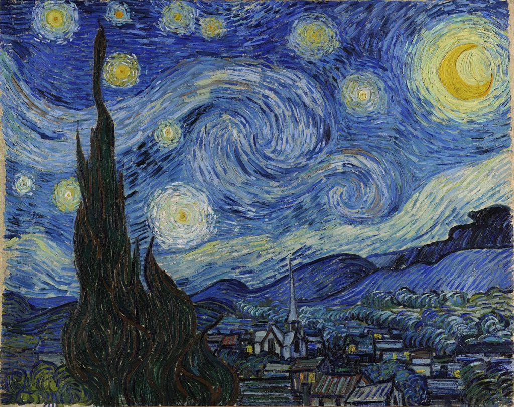 Notte Stellata - Van Gogh - Maddalena Germano