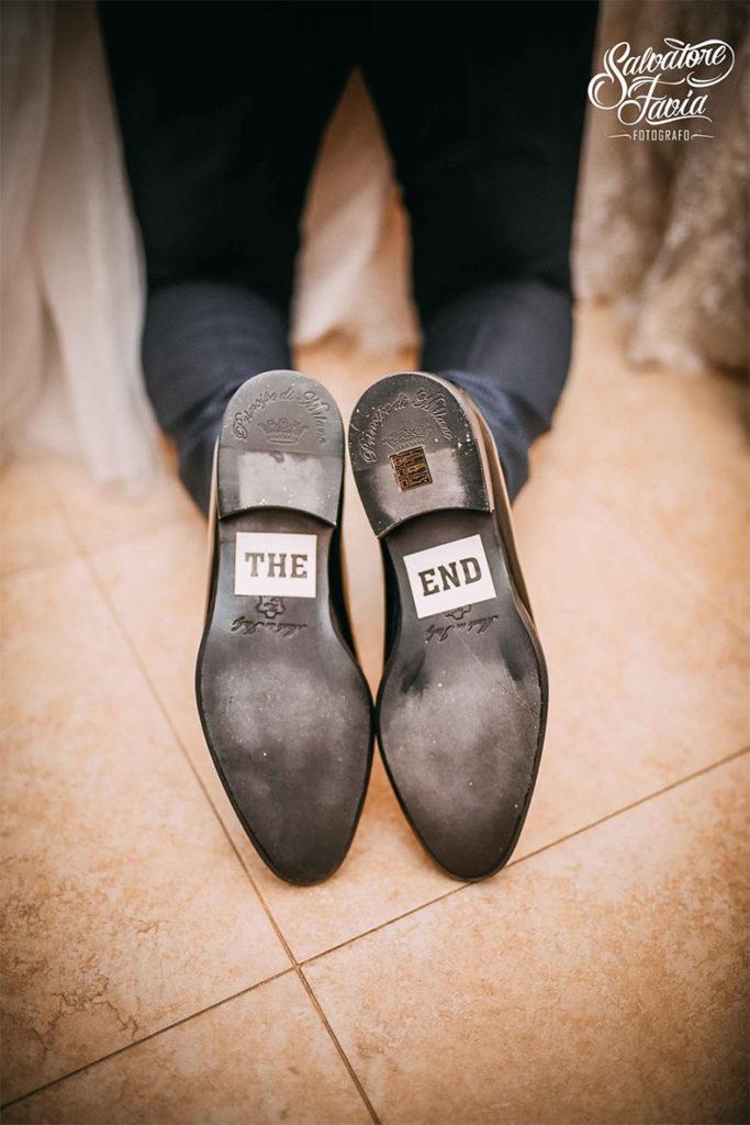 sposo scarpe the end