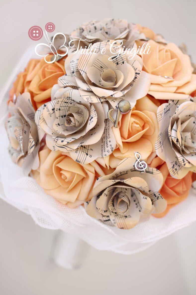 Bouquet sposa tema musica - Trilli e Gingilli