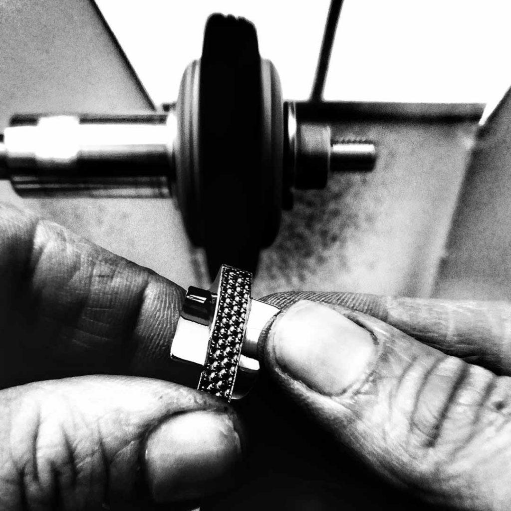 mani fase di lavorazione - Maddalena Germano