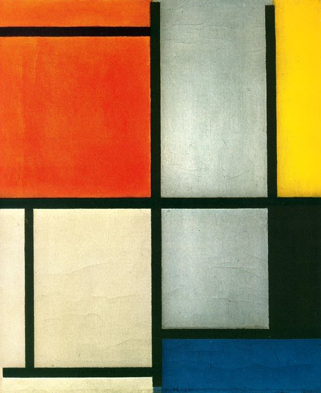 tableau-3-with-orange-red-yellow-black-blue-and-gray